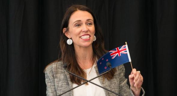 Premier Nowej Zelandii Jacinda Ardern, źródło: Ministry of Justice of New Zealand (CC BY 4.0)