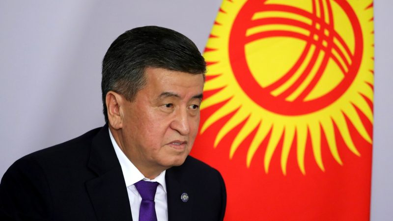 Ustępujący prezydent Kirgistanu Suronbaj Dżinbekow, źródło: Wikipedia/Пресс-служба Президента Российской Федерации/kremlin.ru (CC BY 4.0)