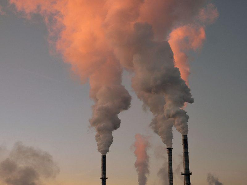 Kominy, smog, Polska, Europa, Warszawa, Górny Śląsk, Lombardia, Rybnik