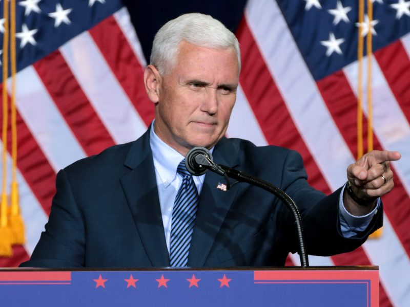 USA, Mike Pence, koronawirus, Donald Trump