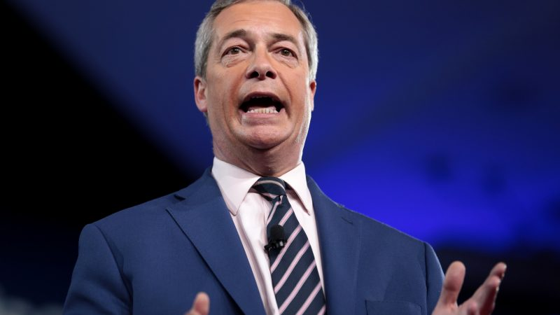 Farage, Wielka Brytania, Brexit, lockdown, COVID-19