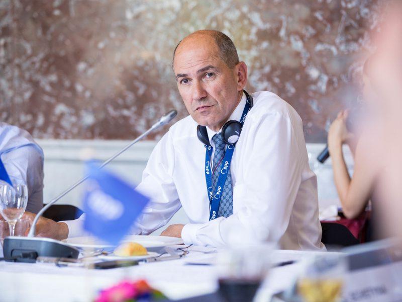 Premier Słowenii Janez Janša, źródło: Flickr/European People's Party (CC BY 2.0)
