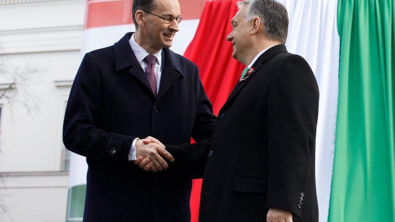 Mateusz Morawiecki i Viktor Orbán