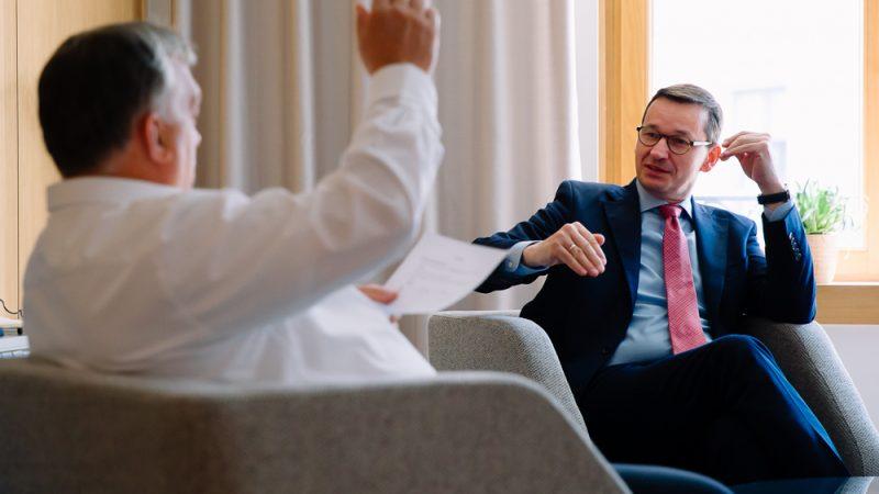 Polska, Węgry, Viktor Orban, Mateusz Morawiecki, Unia Europejska. budżet UE