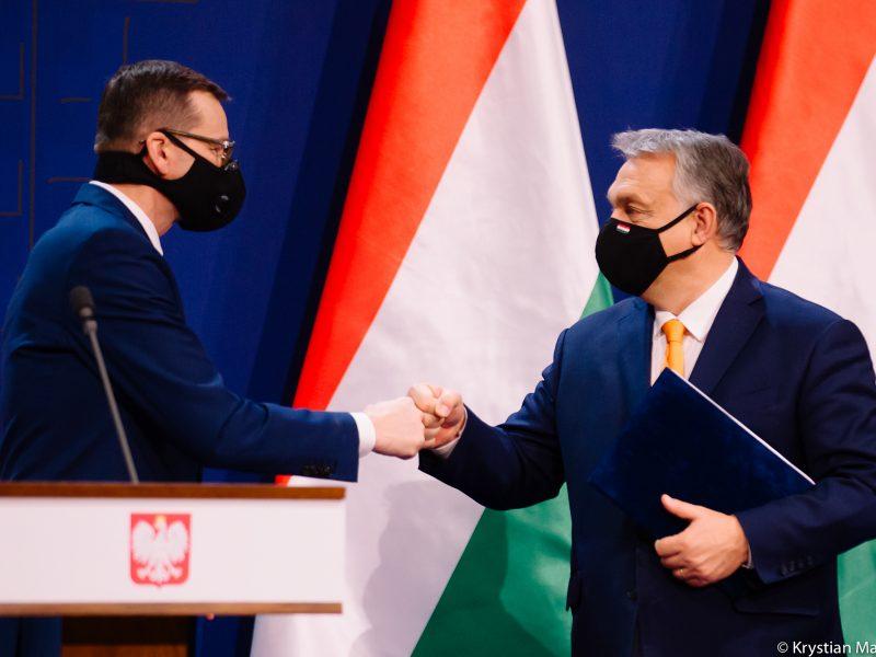 Polska, Unia Europejska, Węgry, budżet UE, weto