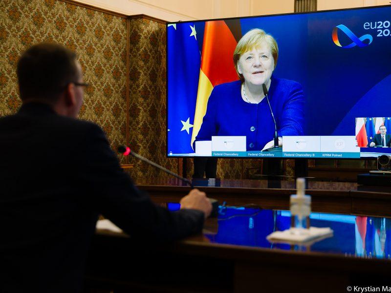 Morawiecki, Merkel, Polska, Niemcy, Unia Europejska, Węgry