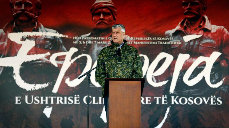 Kosowo, MTK, Haga, zbrodnie wojenne,