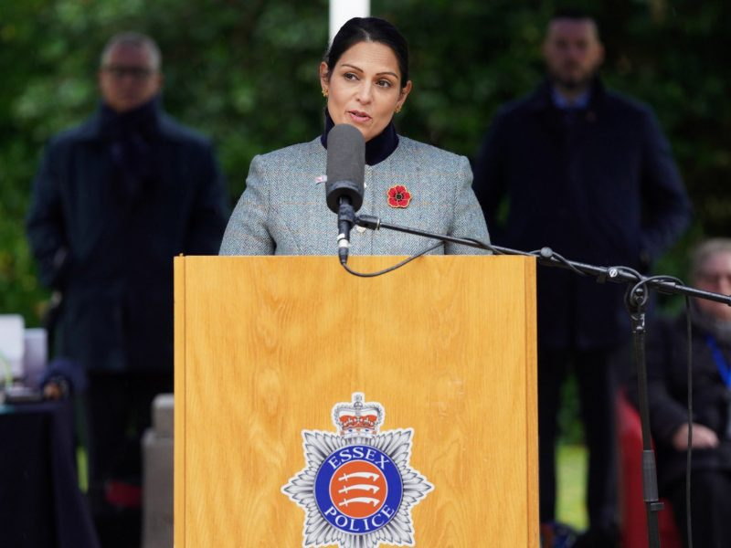 Minister spraw wewnętrznych Wielkiej Brytanii Priti Patel