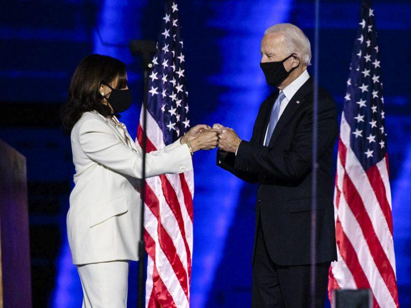 Kamala Harris, Joe Biden, USa, wybory, semiotyka, polityka