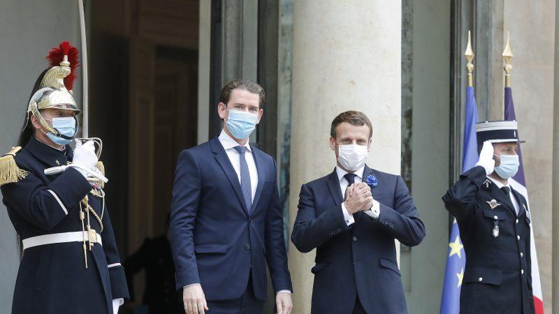 Schengen, Francja, Austria, terroryzm, Kurz, Macron