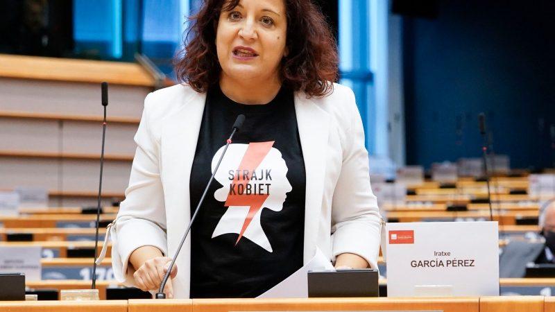 Iratxe García Pérez, Strajk Kobiet, S&D, Parlament Europejski