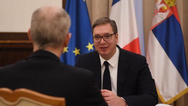Francja, Serbia. metro, Chiny, inwestycje, Vucic,, Riester, Alstom