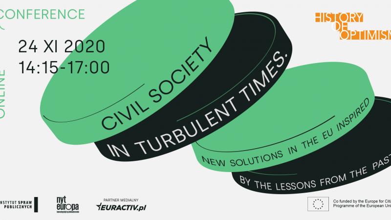 Społeczeństwo obywatelskie w burzliwych czasach - Nowe rozwiązania w UE inspirowane lekcjami z przeszłości