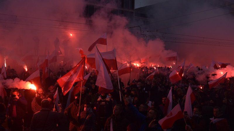 Marsz Niepodległości 2020, źródło twitter StowMarszN