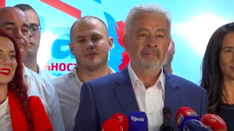 Nowy premier Czarnogóry Zdravko Krivokapić, źródło: Wikipedia/YouTube/Za budućnost Crne Gore (CC BY-SA 4.0)