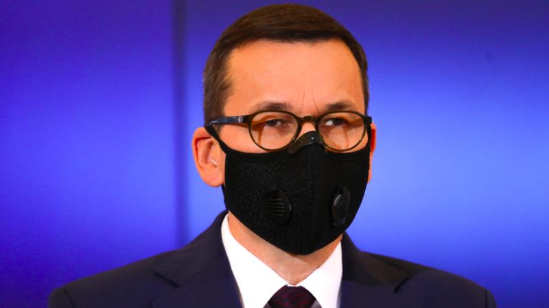 Premier Mateusz Morawiecki ogłosił zaostrzenie w Polsce zasad przeciwepidemicznych, źródło: KPRM, fot. Adam Guz