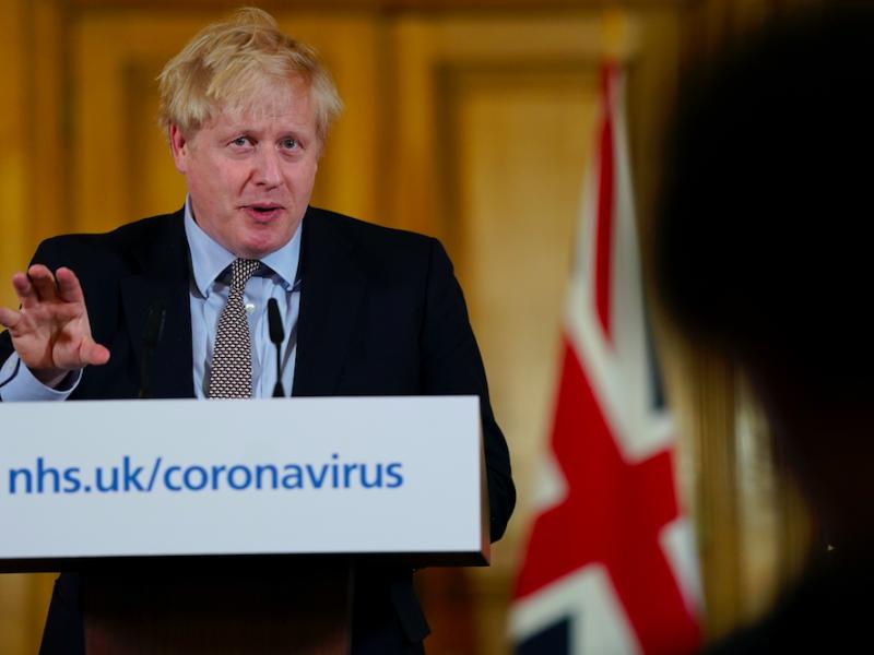 Premier Wielkiej Brytanii Boris Johnson, źródło: Flickr/fot. Andrew Parsons/No 10 Downing Street (CC BY-NC-ND 2.0)