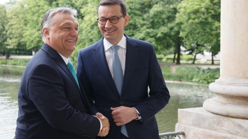 Premierzy Węgier i Polski przesłali do Brukseli listy z groźbą weta wobec unijnego budżetu na lata 2021-2027, źródło: KPRM (CC0 Public Domain)