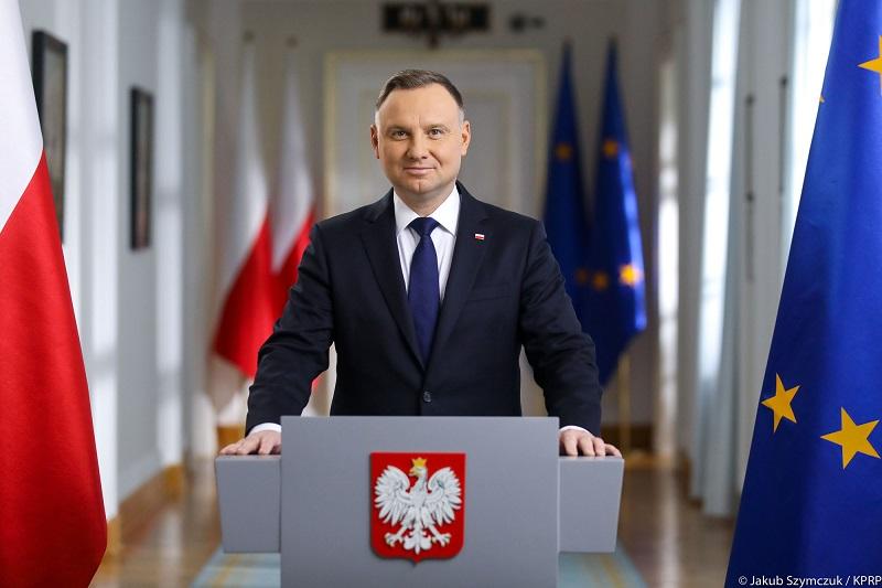 Prezydent Andrzej Duda - orędzie z okazji Święta Niepodległości, źródło Jakub Szymczuk KPRP