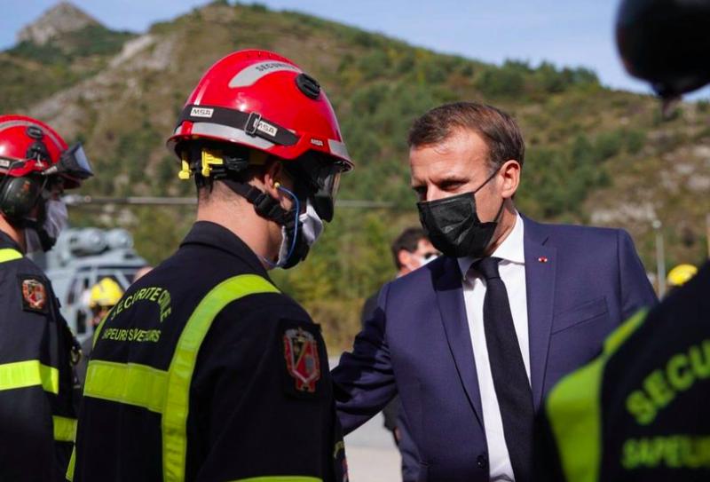 Prezydent Francji Emmanuel Macron chce zmian w funkcjonowaniu Strefy Schengen, źródło: Facebook. Emmanuel Macron (@EmmanuelMacron)