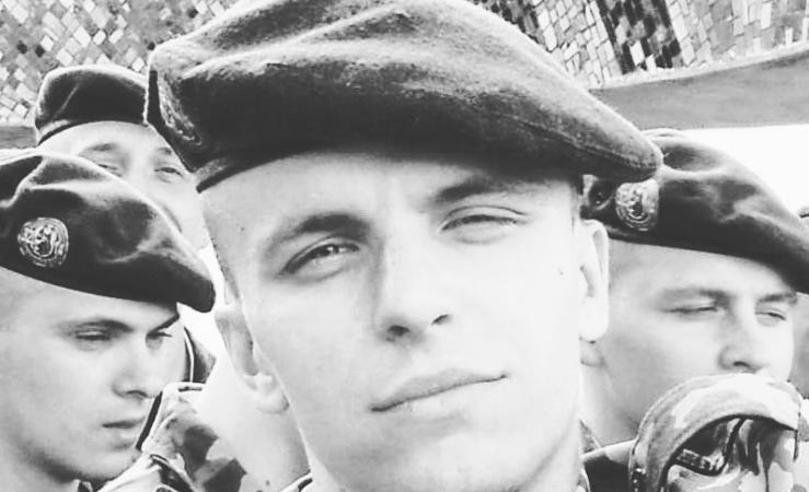 Roman Bondarenko służył niegdyś w wojsku. Potem brał udział w antyłukaszenkowskich protestach, źródło: VKontakte