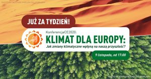 """XIV KonferencjaCE: """"Klimat dla Europy"""""""