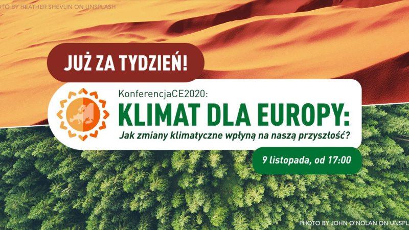 XIV KonferencjaCE- Klimat dla Europy
