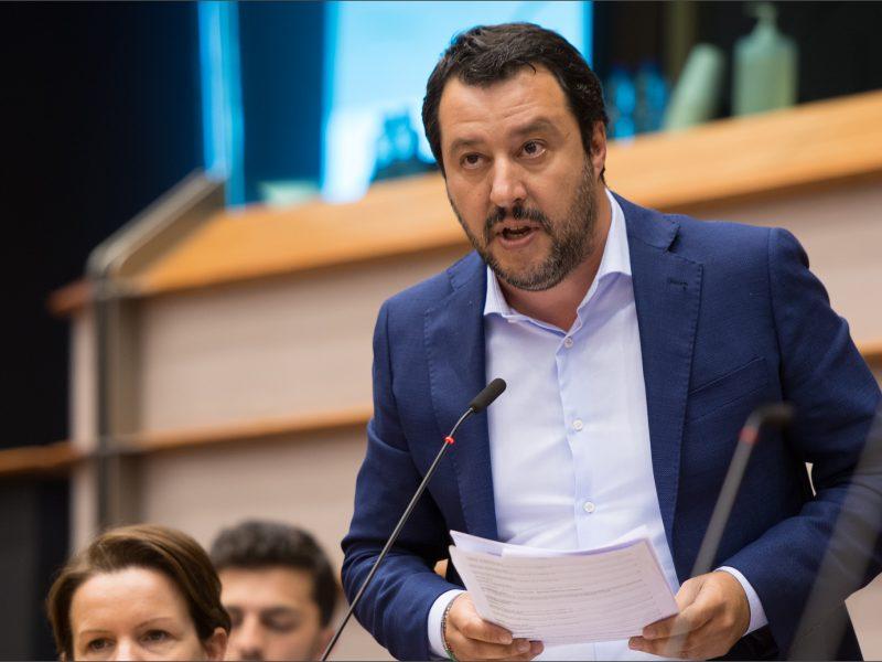 Włochy, Matteo Salvini