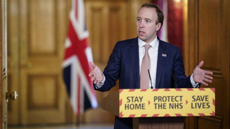 Minister zdrowia Wielkiej Brytanii Matt Hancock, źródło: Flickr/No 10 Downing Street, fot. Andrew Parsons (CC BY-NC-ND 2.0)