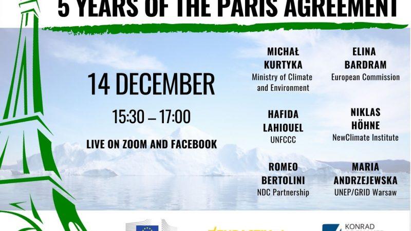 webinar, paris agreement, porozumienie paryskie, zmiany klimatu, climate change