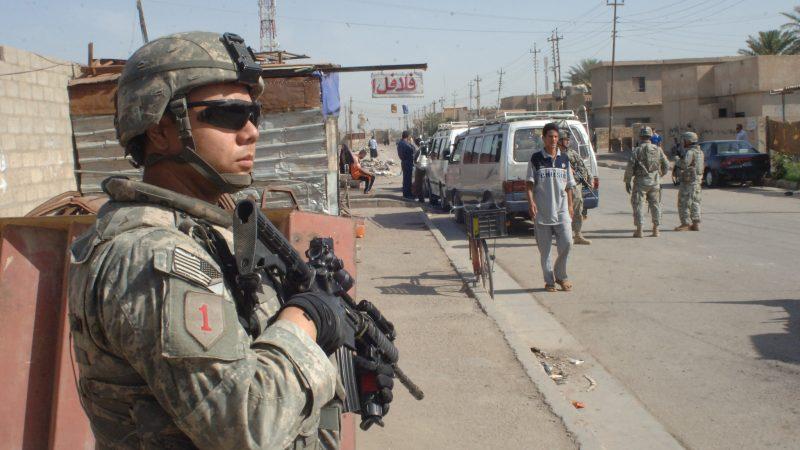 USA, Stany Zjednoczone, armia, wojsko, Irak, Bagdad