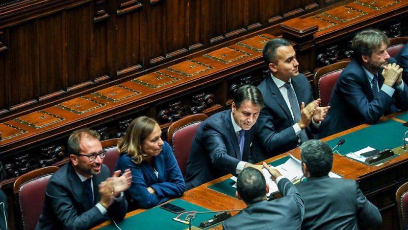 włoski rząd, Włochy, Ruch Pięciu Gwiazd, Partia Demokratyczna