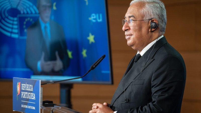 Portugalia, Antonio Costa, Unia Europejska, UE