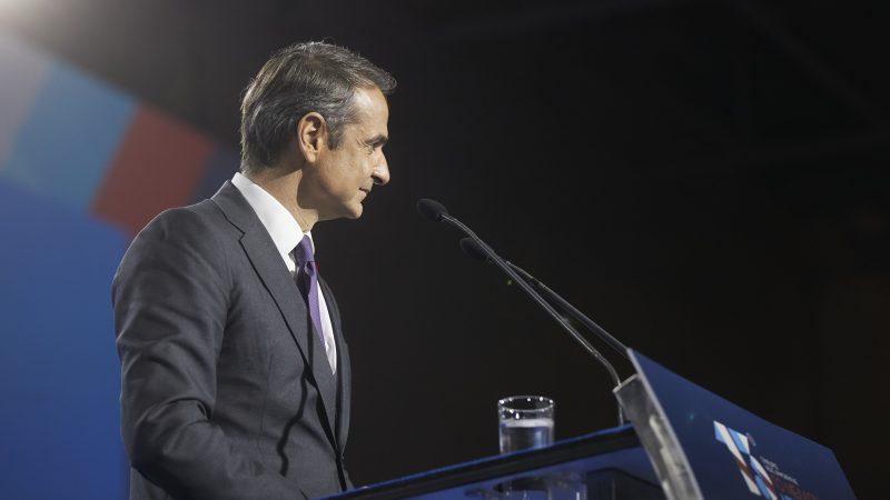 Kyriakos Mitsotakis, Grecja, premier