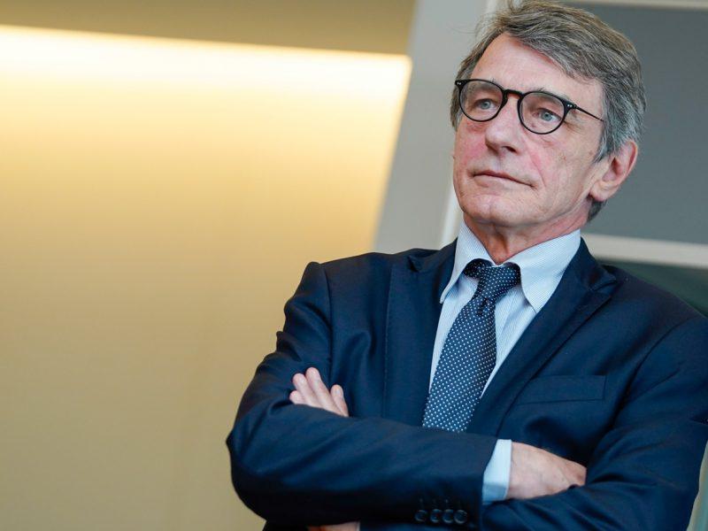 David Sassoli, PE, Parlament Europejski, przewodniczący