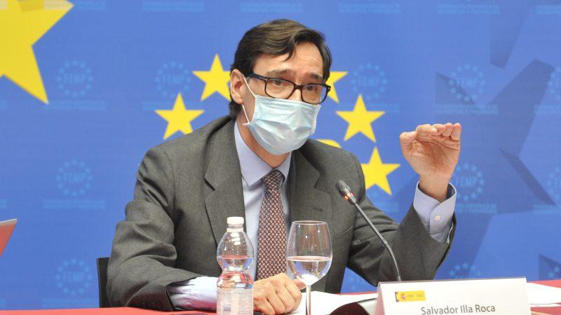Salvador Illa, Hiszpania, minister zdrowia
