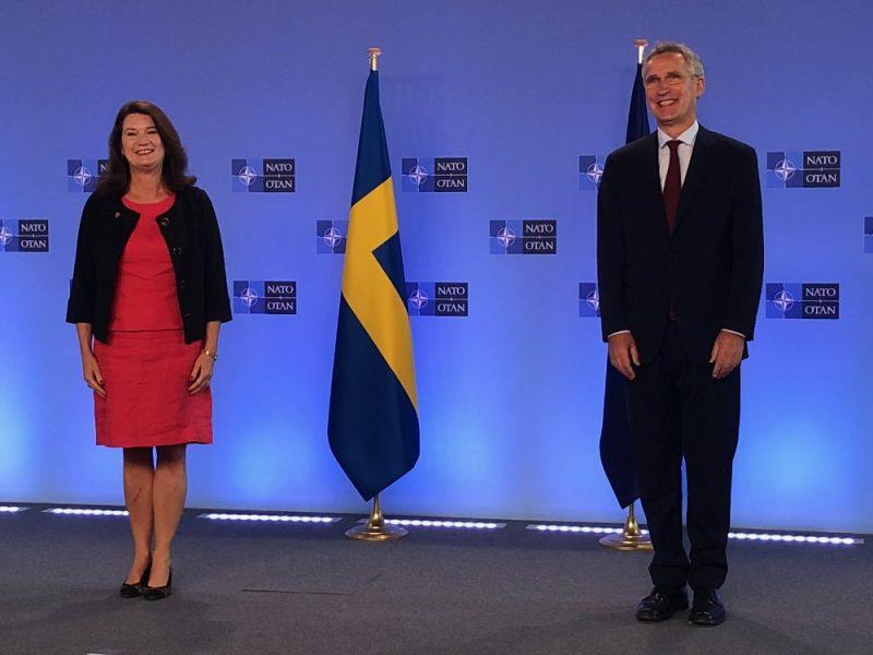 Szwecja, Ann Linde, NATO, Jens Stoltenberg