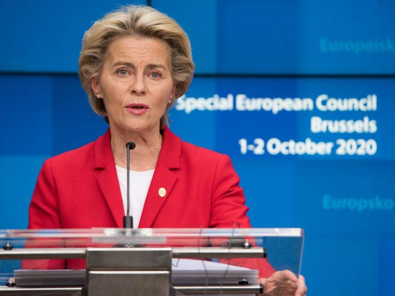 Ursula von der Leyen, Komisja Europejska