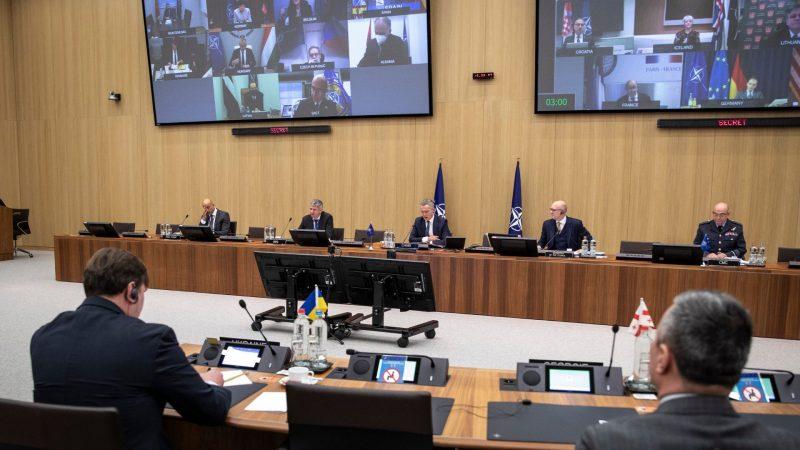 NATO, spotkanie ministrów spraw zagranicznych, Bruksela