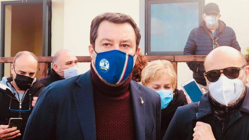 Matteo Salvini, Liga, Włochy
