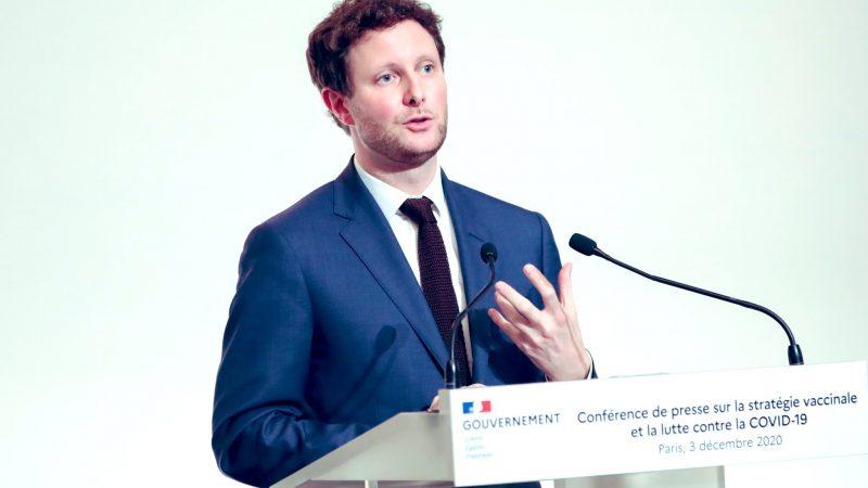 Francuski minister ds. europejskich Clément Beaune [Twitter, @CBeaune]