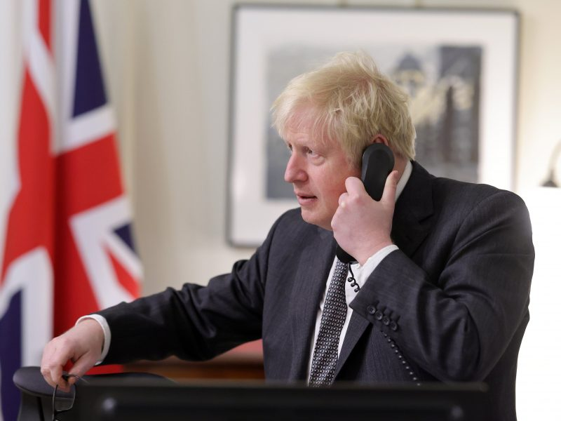 Boris Johnson, premier, Wielka Brytania, brexit