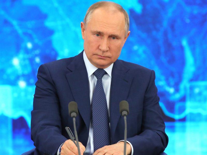 Władimir Putin, Rosja, prezydent