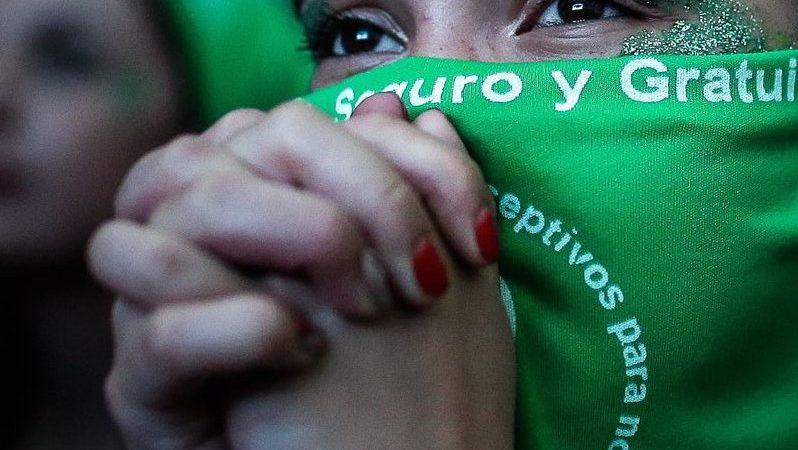 Argentyna, aborcja, przerywanie ciąży, strajk kobiet, abortoya, que sea ley, Fernandez
