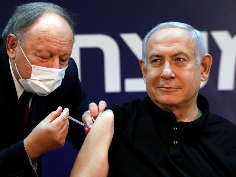 Benjamin Netanjahu, szczepionka, koronawirus, Izrael, premier