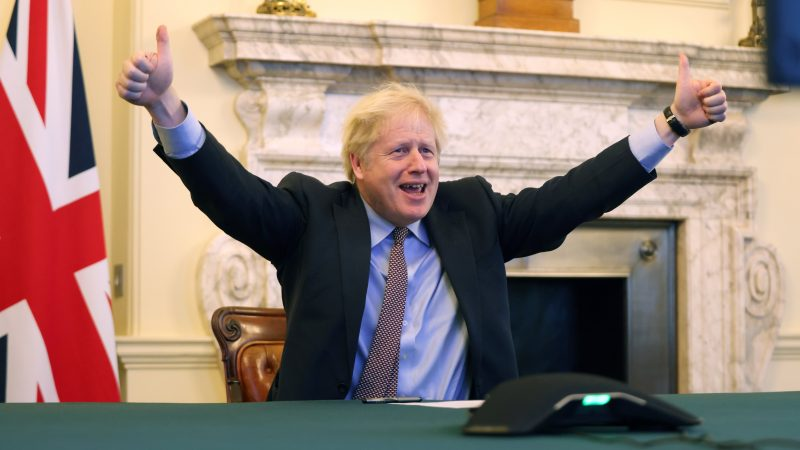 Boris Johnson, Wielka Brytania, premier
