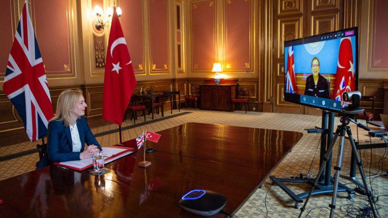 umowa handlowa, Wielka Brytania, Turcja