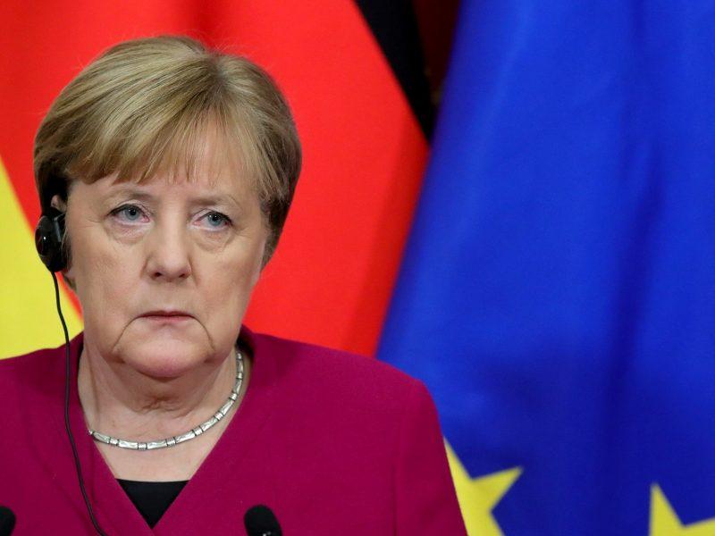 Kanclerz Niemiec Angela Merkel, źródło: https://kremlin.ru/events/president/news/62565 (CC BY 4.0)