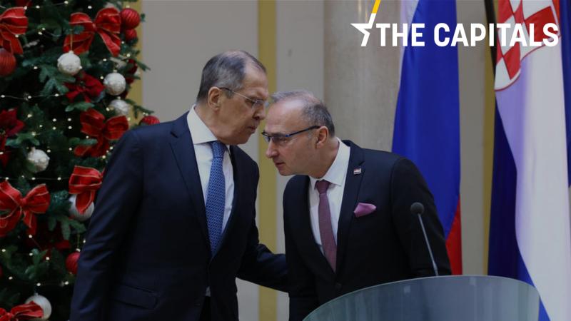 Rosja, Chorwacja, Unia Europejska, Ławrow, Nawalny, dyplomacja