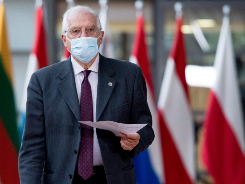 Wysoki Przedstawiciel UE ds. polityki międzynarodowej i bezpieczeństwa Josep Borrell, źródło: EC - Audiovisual Service/European Union 2020, fot. Etienne Ansotte